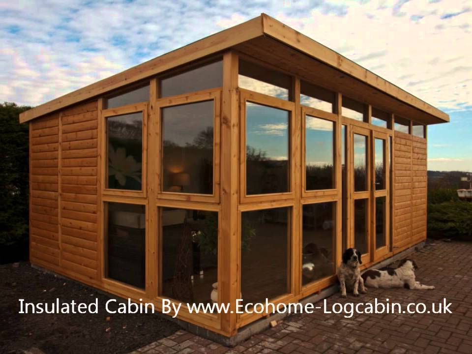 How To Insulate Your Shed, Garden Room, Home Office, Outdoor Workshop Or  Log Cabin   YouTube