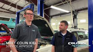 Meet Colchin Automotive's New Service Advisor...Colin