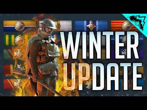 GRINDING LVL 50 SCOUT - Battlefield 1 Winter Update Multiplayer Gameplay