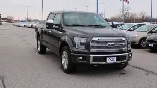 2016 ford f 150 platinum test drive   stivers ford lincoln des moines