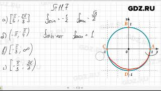 № 11.7- Алгебра 10-11 класс Мордкович