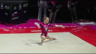Vladislava Urazova / Уразова Владислава (RUS) - Floor - 2018 European Championships (Junior)