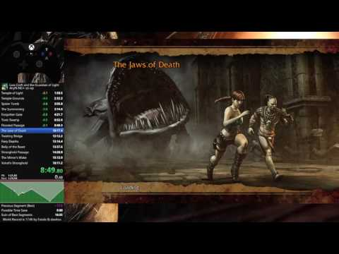 Lara Croft and the Guardian of Light Any% NG+ co-op speedrun in 18:07 IGT (21:43 RTA)