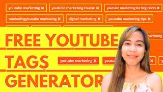 Youtube Tags Generator - Free  Online tools (tagalog tutorial 2020)