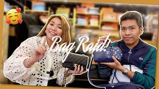 BAG RAID WITH BFF P!   Bag Talks by Anna