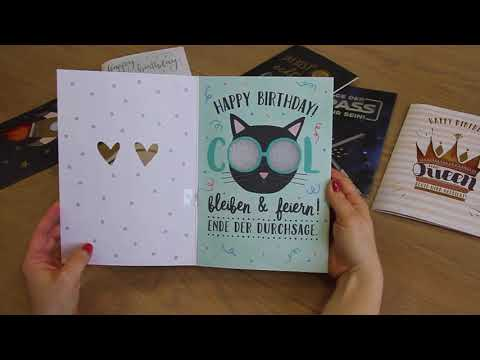 Musikkarte - Happy Birthday 26416