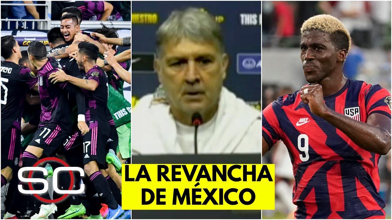 MÉXICO y el Tata BUSCAN VENGANZA en la final de la Copa Oro vs Estados Unidos | SportsCenter