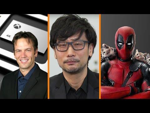 Xbox Boss on Scorpio 4K + Kojima Speaks on Konami + Deadpool Snubbed By Oscars!  - The Know News