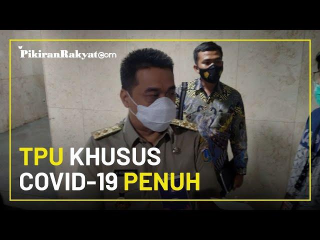 Sejumlah TPU Khusus Covid-19 di Jakarta Penuh, Wagub DKI Jakarta Riza: Tempatnya Semakin Sempit