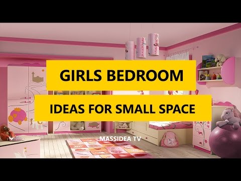 50+ Awesome Girls Bedroom Designs Ideas For Small Space 2017