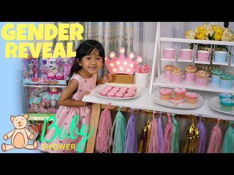 GENDER REVEAL of MOMMY RAIN
