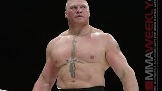 """Brock Lesnar Admits """"I'm a Sore Loser"""" and Talks Dana White  """"Whip the Dog Session"""""""