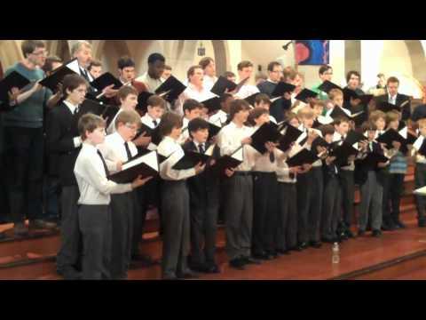 Christ Church & Grace Church Rehearse Te Lucis