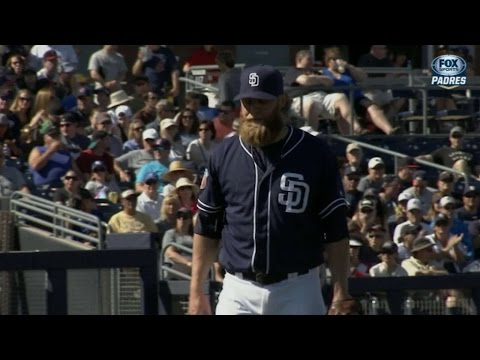 CLE@SD: Cashner fans five over three hitless innings