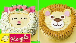 Amazing Cake Decorating Ideas | Lion, Sheep, Fox Animal Cakes | Hoopla Recipes