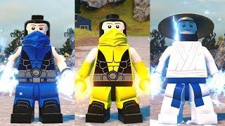 lEGO DC Super Villains - Sub-Zero Scorpion and Raiden (Mortal Kombat Customs)
