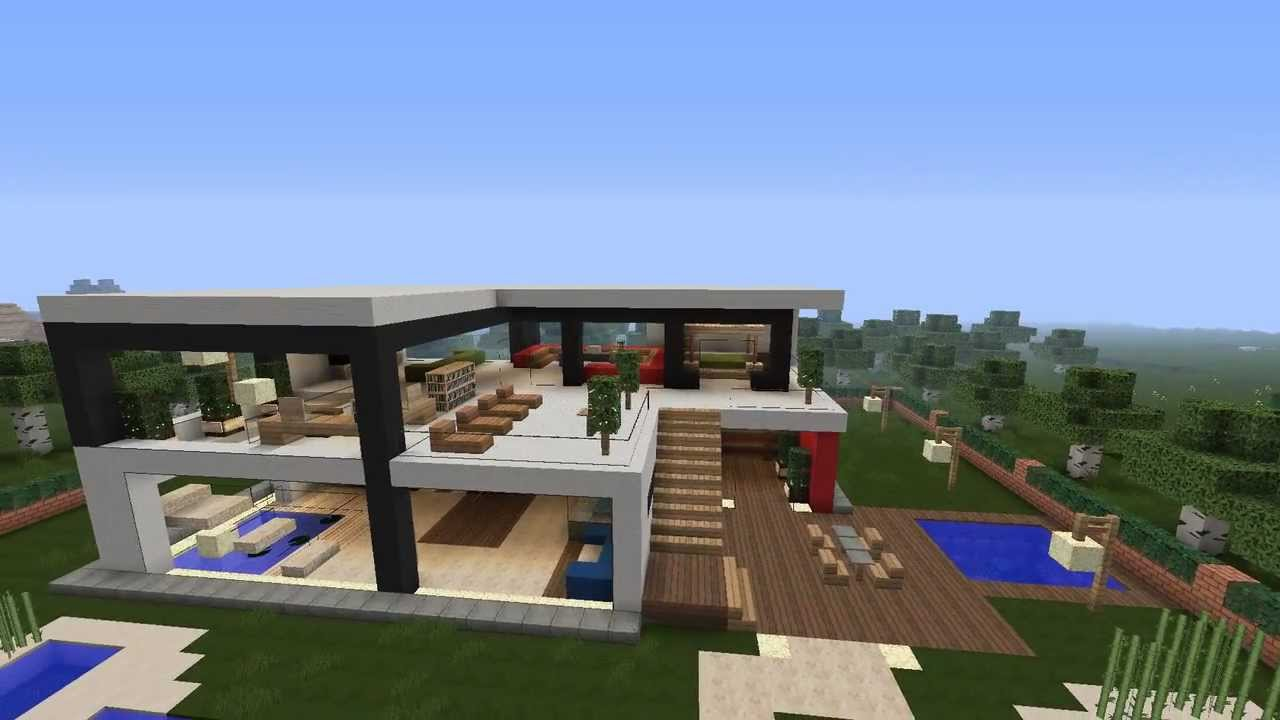 Minecraft Luxury Modern House V1 YouTube : maxresdefault from www.youtube.com size 1280 x 720 jpeg 66kB