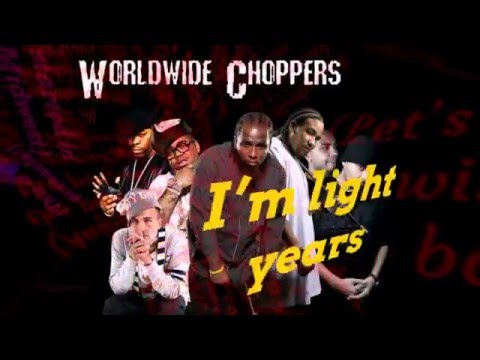 Tech N9ne - Worldwide Choppers [Lyrics on Screen]
