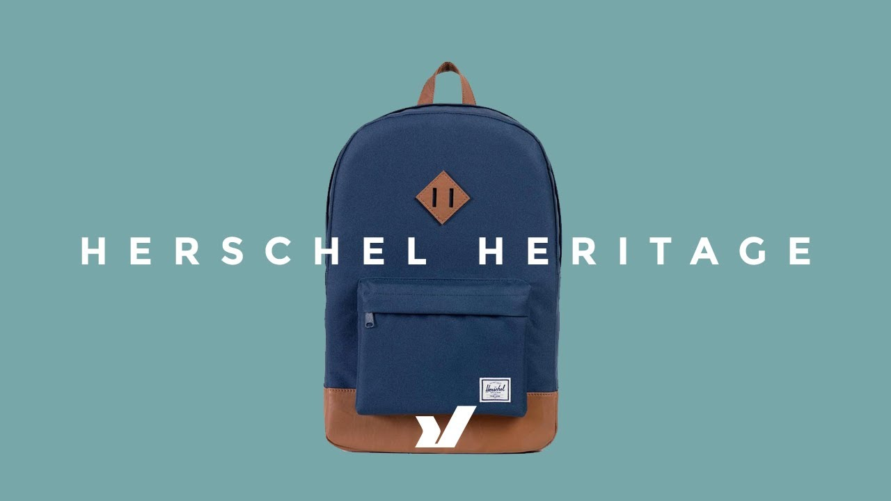 8f21de349d The Herschel Heritage Backpack - YouTube