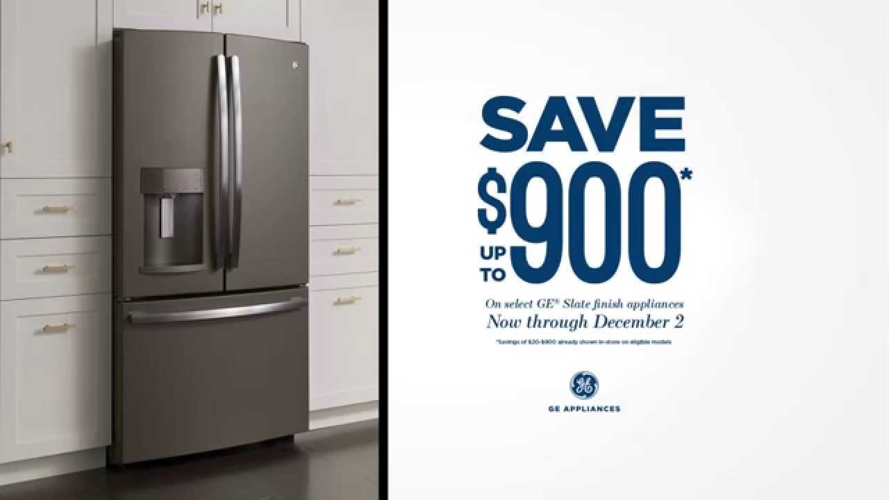 Save Up To $900 On Select GE® Slate Appliances | GE Appliances | GE Cafe  Appliances | GE Profile