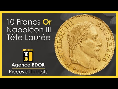 10 Francs Or Napoléon Lauré - Pièces en Or - Agence BDOR - Gold Coin