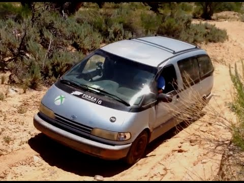 All Cars Go To Heaven 2: Can the Previa Make it Up a Sandy Wash?
