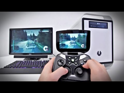 Playing PC Games on the NVIDIA SHIELD! (FULL DEMO)