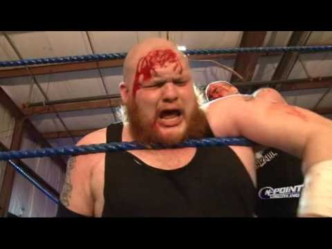 """[FREE MATCH] Jeff Cannonball vs 'Bulldozer"""" Matt Tremont """"Fans Bring The Weapons"""" On Point Wresting"""