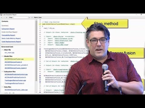 ADAS Design, Simulation, and Code Generation with Simulink - Coder Summit 2018