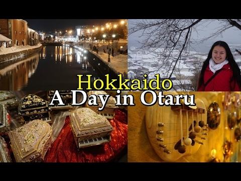 HOKKAIDO - A day in Otaru・小樽 (Japan Travel Vlog #2)
