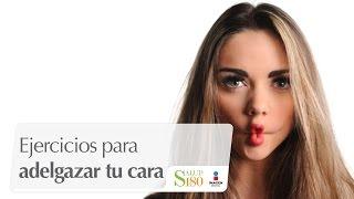 Ejercicios para adelgazar tu cara   Transfórmate   Salud180