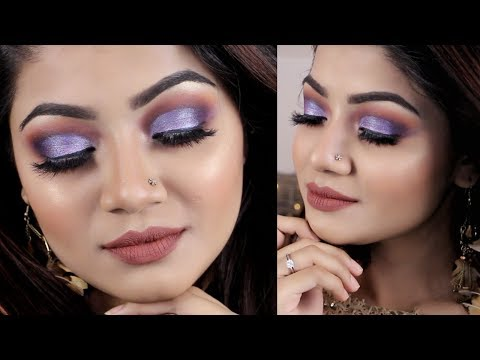 PURPLE MAKEUP TUTORIAL - Purple Smokey Eyes | Easy Drugstore Makeup - Jordana Cosmetics thumbnail