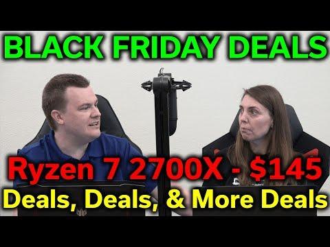 Early Black Friday Deals — Ryzen 7 2700X $145 — 32GB DDR4-3200 $99 — 1TB NVMe $82 — RTS 11-26-2019