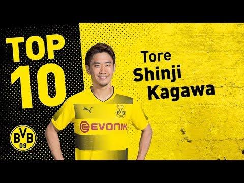 Top 10 Goals | Shinji Kagawa 🇯🇵