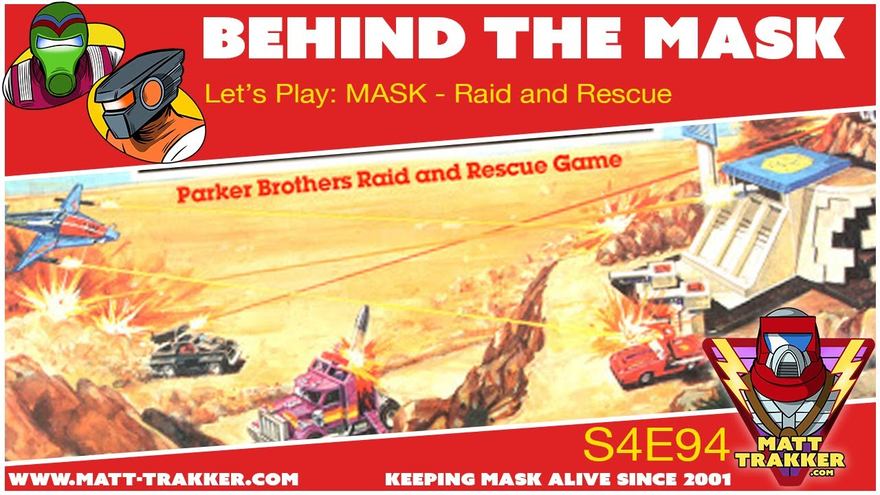 Let's Play: MASK - Raid and Rescue Board Game - s4e94