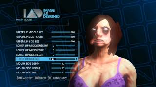 Saints Row 4 character creation: hottest woman ever...kind of.