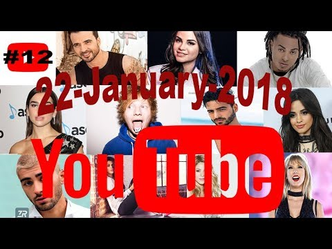 Today's Most Viewed Music Videos on Youtube, 22 Jan 2018, #12