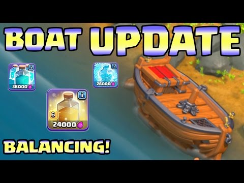Clash of Clans BOAT UPDATE - More Information - Balancing Inbound!