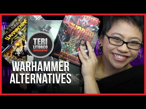 Alternative Games to Warhammer & Warhammer 40K