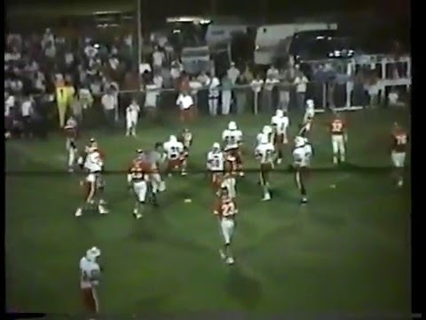 1990 Fort Gibson Tigers at Stilwell Indians Football