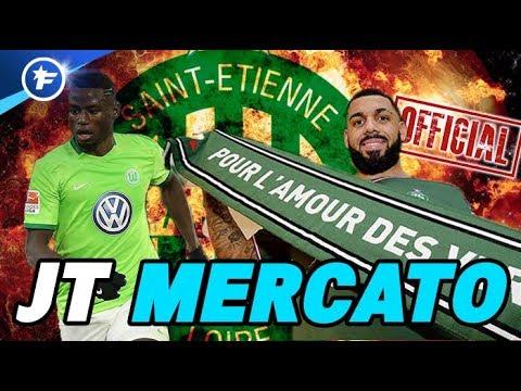 Les 2 gros coups de Saint-Étienne : Ntep et M'Vila | Journal du Mercato