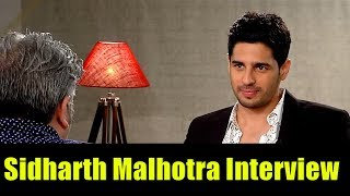 Sidharth Malhotra Interview by Rajeev Masand