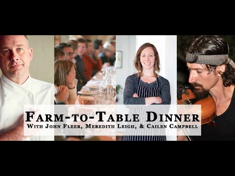 Asheville NC, Organic Grower's School Valentine's Dinner w John Fleer - by DigLocal.com