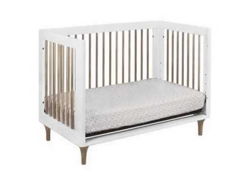 Get Babyletto Lolly 3 in 1 Convertible Crib with Toddler Rail, White Natur Product Images