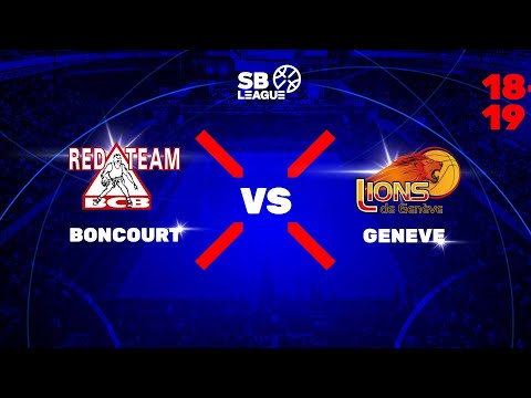 SB League - Day 8: BONCOURT vs. GENEVE