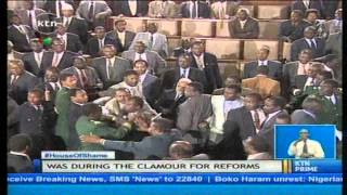 Events of the chaotic parliament rekindle memories of Kenya