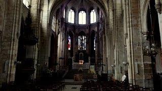 (4K)Travel to Paris 2014 - Eglise Saint-Leu Saint-Gilles サンルー・サンジル教会