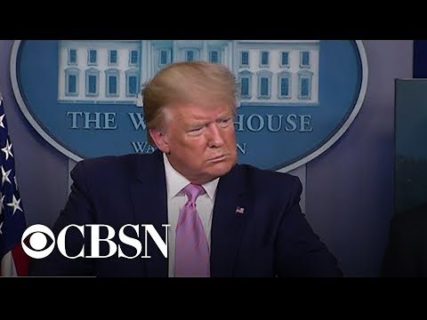 Trump Considers Next Steps In Dealing With Coronavirus Pandemic