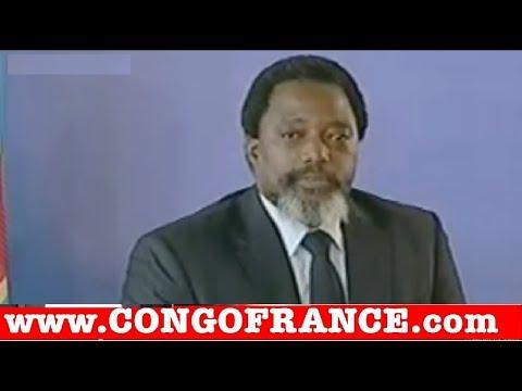 Joseph Kabila en Conférence de Presse en direct de Kinshasa ce 26 01 2018