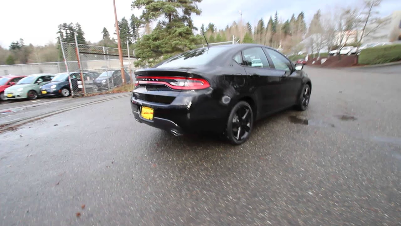 2015 Dodge Dart Rallye Blacktop Pitch Black Fd180557
